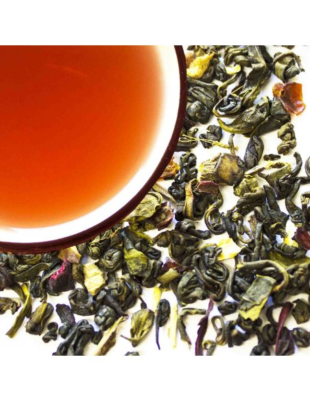 Pomegranate Blend Green Tea