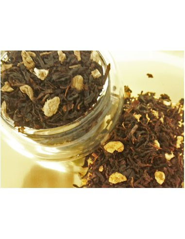 Peach Ginger (Black tea)